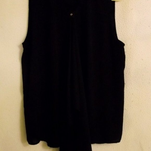 HERVE BENARD Women's top, Large, Black